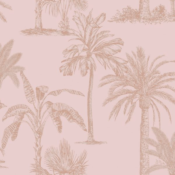 12822 Glistening Tropical Tree Blush Pink Product