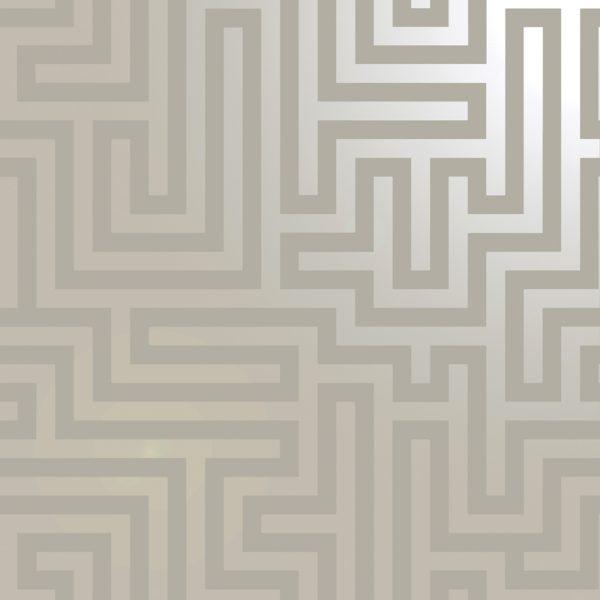 12911 Glistening Maze Taupe prod shiny