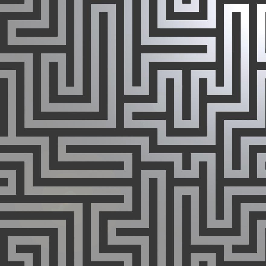 12912 Glistening Maze Black product shine