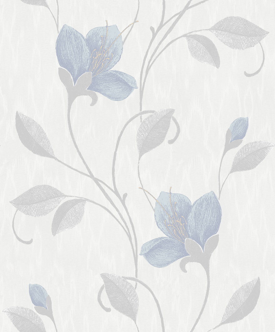 Juliet Blue Pale Grey Holden Decor