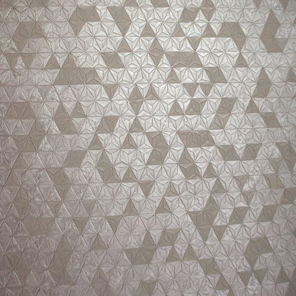 35981 Origami Texture Taupe shine