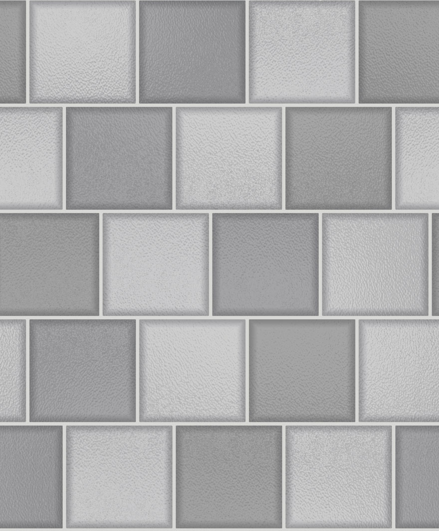 89350 Glass Tile Grey