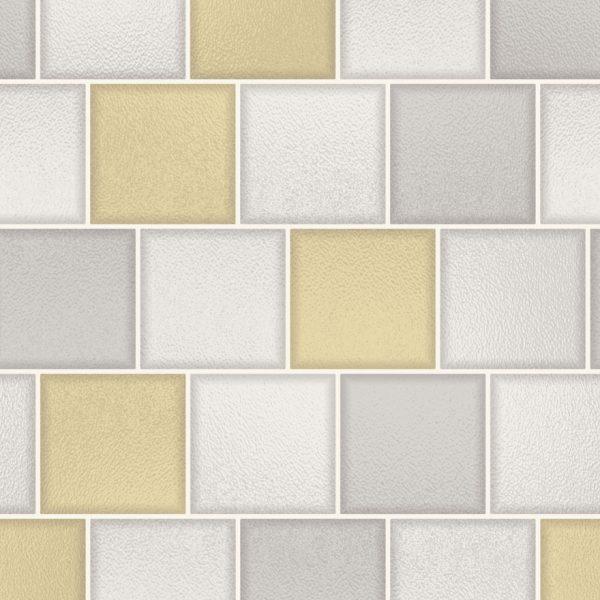 89351 Glass Tile Yellow_Grey