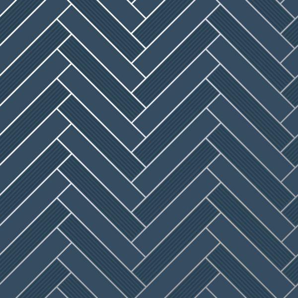 89373 Cerros Tile Navy Shiny Product