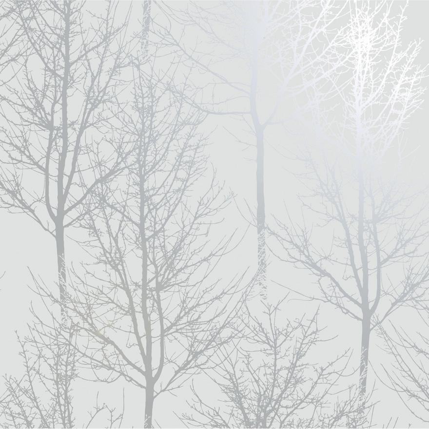 90760 Rhea Trees Grey Silver Product