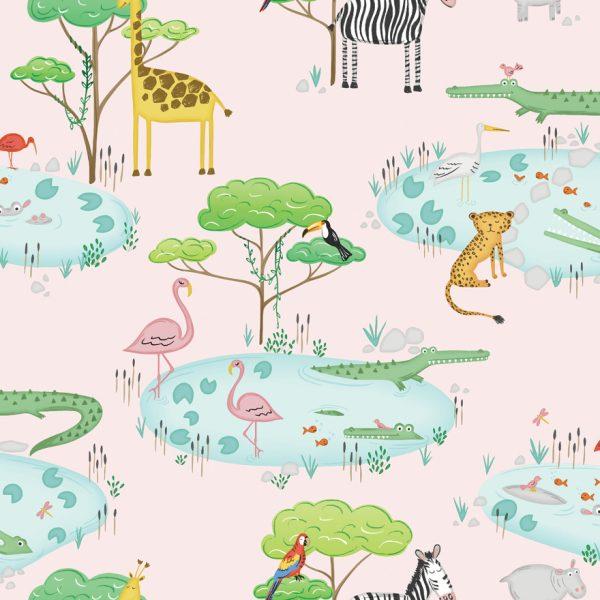 90931 Crocodile Lake Pink