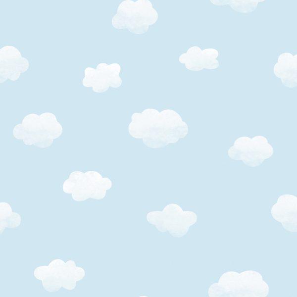 90991 Cloudy sky blue