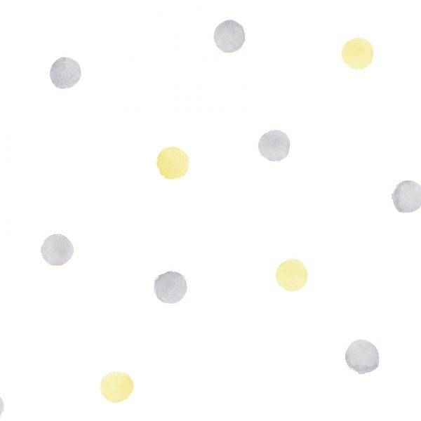 91002-Watercolour-Dots-Yellow-Grey