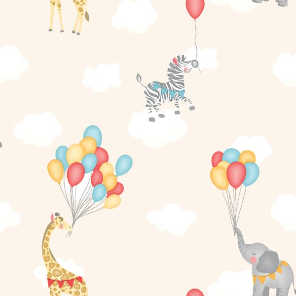 91042 Animals Balloons Neutral