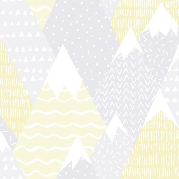 91050 Mountains yellow