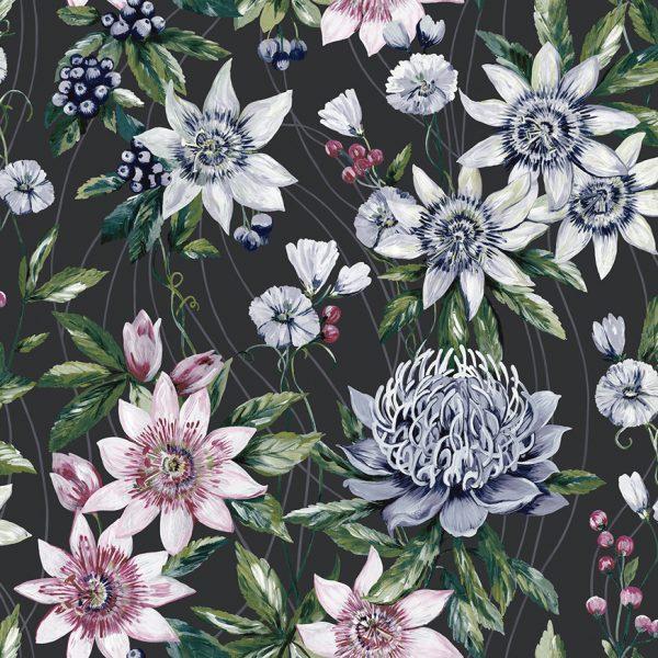 91324 Passiflora Black Product