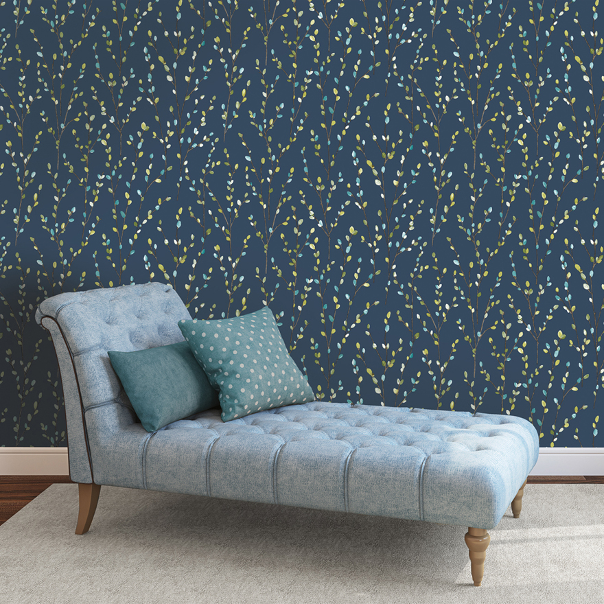 Willow Navy Lime Teal Holden Decor