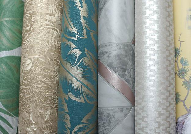 Choose wallpaper by material